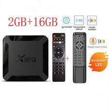 <b>X96Q</b> new <b>Android 10.0 X96</b> Q Smart TV BOX Allwinner H313 Quad ...