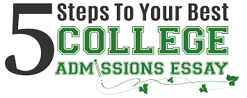 5 steps to your best college essay ghost editorial a complete college admissions essay writing package for your student that can be completed in the comfort and privacy of your own home