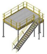 structural mezzanine 8h 11 x 15 11 platform bar grate mezzanine floor