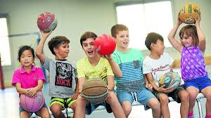 local kids unplug the gadgets for active holiday fun the having a ball seven year olds yeong riolo and jack robinson 10