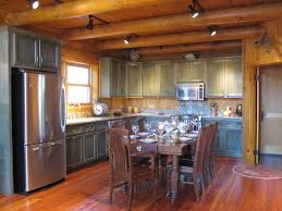 cabinets uk cabis: bellissimoandbellablogspotcom log cabin kitchen green cabinets design work pinterest green cabinets colors and cabin kitchens