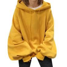 Buy plus size <b>women hoodies sweatshirt ladies</b> hooded and get free ...