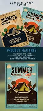 summer camp flyer template by adimasen graphicriver summer camp flyer template flyers print templates