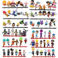 <b>6pcs</b>/lot <b>Dragon Ball</b> Figures Son Goku Gohan Vegeta Trunks Kale ...