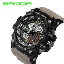 <b>Sanda</b> 759 Sports Men's Watches <b>Top Brand Luxury</b> Military Quartz ...