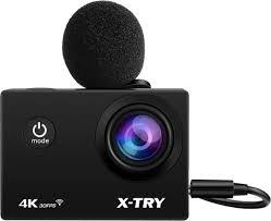 <b>Экшн</b>-<b>камера X</b>-<b>Try EMR</b> ХТС197, черный