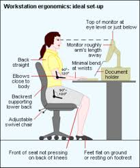 ergonomic desk height measurements google search office typically there are 3 seated positions depending on the type of work done reclined upright and forward the goal is to adjust the chair and workstation