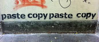 copy paste piratería