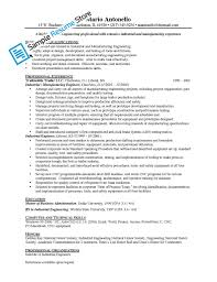 industrial engineer resume com industrial engineer resume and get inspiration to create a good resume 13