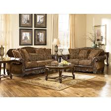 antique living room furniture with comfortable brown sofa and oval wooden table with great antique living room furniture sets
