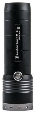 Купить Ручной <b>фонарь LED LENSER MT6</b> черный по низкой цене ...