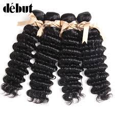 <b>Debut Hair</b> Deep Wave Bundles With Closure <b>Brazilian</b> Hair Weave ...