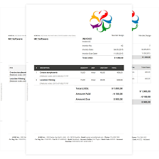 online invoice template to create professional invoices invoice templates
