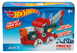 <b>Конструктор BAUER Hot</b> wheels серия truckz Jack 8 715 – купить в ...