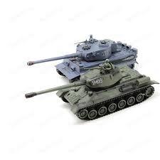 Радиоуправляемый танковый бой MYX T34 Tiger масштаб 1:28 ...