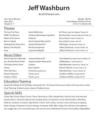 audition resume templates   uhpy is resume in you resume template actor word