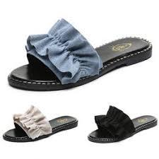 New Women Slippers PU Summer Beach Shoes Female ... - Vova