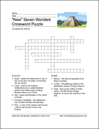 new seven wonders of the world printables