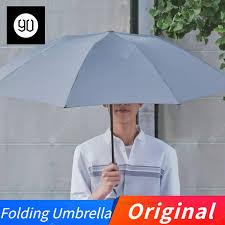 Original 90Fun Automatic Reverse Folding Umbrella Led Luminous ...