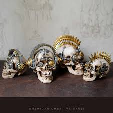 <b>Resin Craft Skull</b> Statues For Decoration Indian Style <b>Skull</b> Sculpture ...