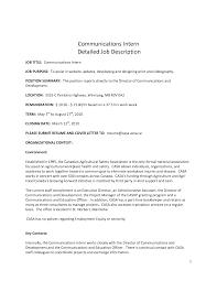 resume format resume format job description sample resume detailed job description