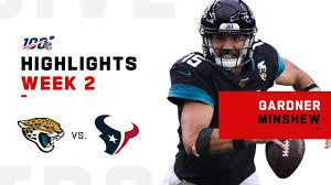 Gardner Minshew Highlights vs. Texans | NFL 2019 - YouTube