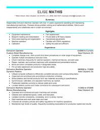 machine operator warehouse and production manage department forklift operator resume sample