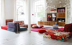 bohemian living room with trendy furniture for stylish look bohemian living room furniture