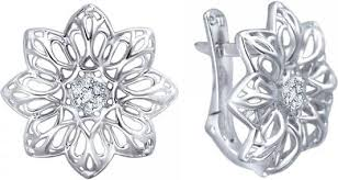 <b>Серьги ESTET Moscow</b> 01S1211557 | Floral rings, Jewelry ...