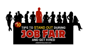 top tips to stand out during job fair and get hired