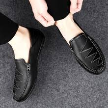 New Fashion <b>Men</b> Flats Light Breathable <b>Peas Shoes</b> Shallow ...