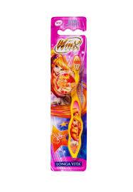 <b>LONGA VITA</b> Winx Детская <b>зубная</b> щетка с защитным колпачком ...
