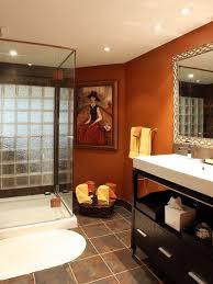 ideas burnt orange:  burnt orange bathroom design ideas