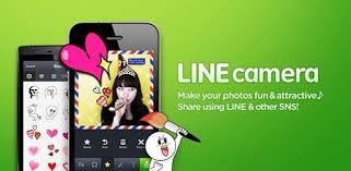 แอพถ่ายรูปจาก LINE  Camera