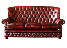 high back sofas living room furniture red leather sectional sofa with high back plus arm rest and three seat