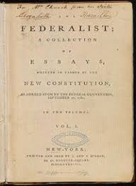 national documents   cypress texas tea  ythe federalist papers are a series of  articles or essays advocating the ratification of the united states constitution  seventy seven of the essays were