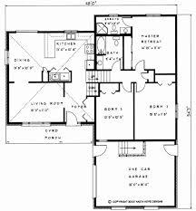 Backsplit House Plans   Nauta Home Designs   Ontario CanadaBacksplit House Plan BS Floor Plan