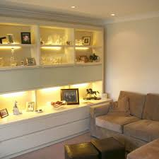 tv20 high gloss ivory living room shelving view details childrens fitted bedroom furniture