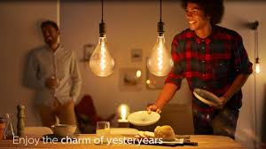 Add a sense of nostalgia to your home - Philips <b>Vintage</b> LED <b>Lamps</b> ...