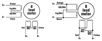 what is a stepper motor principles types and crontollers parallel connection diagram