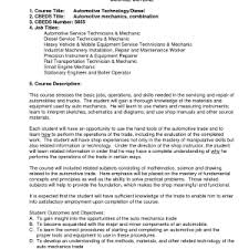 automotive mechanic resume sample cipanewsletter resume automotive skills diesel mechanic resume summary cover auto