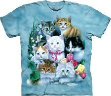 Кошки и котята майки и футболки (размеры 4 и больше) для ...