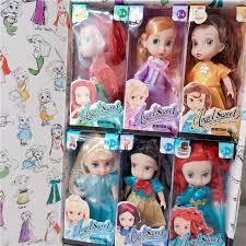 <b>6pcs</b>/set <b>Disney Frozen</b> 2 Anna Elsa Princess Action Figures Model ...
