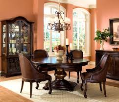 Round Dining Room Table Seats 12 Furniture Agreeable Chaddock Dining Room Spanish Baroque Round