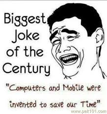 Funny Picture Mobile And Computer Technology | Pak101.com