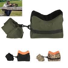 Military Rifle Gun Rest <b>Sandbag</b> Support Bag Tactical <b>Front & Rear</b> ...