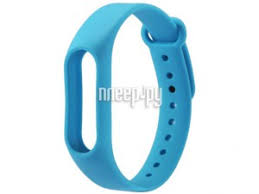<b>Aксессуар Ремешок Activ</b> for Xiaomi Mi Band 2 Silicone Blue 83792