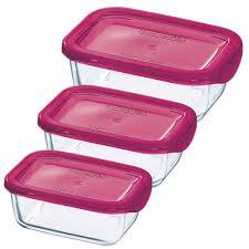 <b>Набор пищевых контейнеров</b> Luminarc Keep'n'Box <b>3</b> пр. J5104 ...
