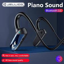 Jellico Headphones With Bone Conduction Earphones <b>Bluetooth</b> ...