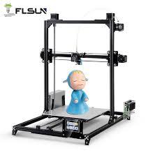 Flsun I3 3d Printer Kit LCD Display <b>Auto Leveling 3D Printing</b> ...